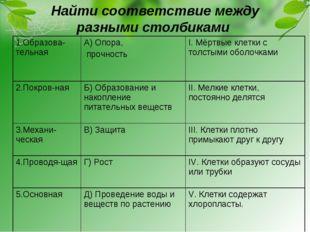 Найти соответствие между разными столбиками 1.Образова-тельная А) Опора, про