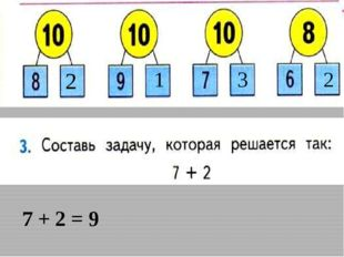 7 + 2 = 9 2 1 3 2