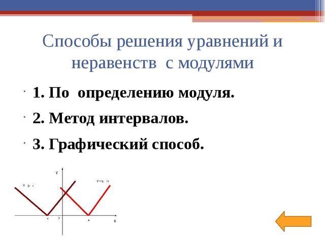 Решение уравнений 1. |х|=2,6 х=2,6 или х=-2,6 Ответ: -2,6; 2,6 2. |х+5|=3 х+...