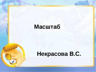 Масштаб Некрасова В.С.