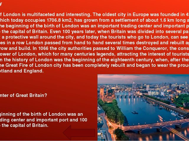 Middle Ages The story of medieval London to start since 1066, when William th...