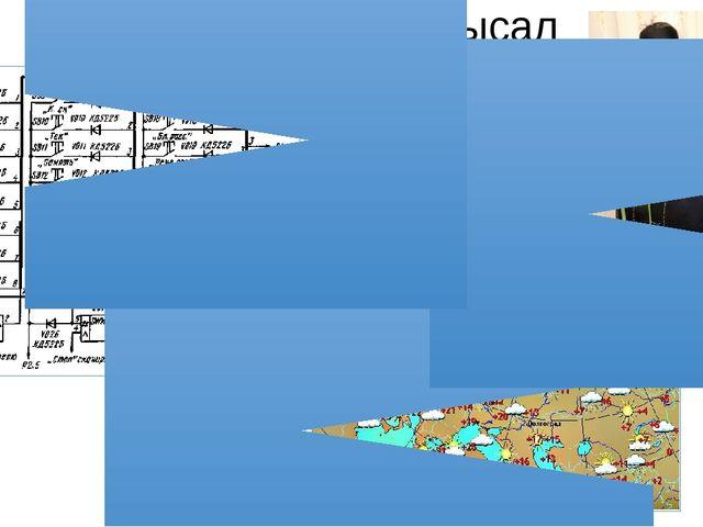 Модельдерге мысал Ауа райының картасы Манекен Сызба