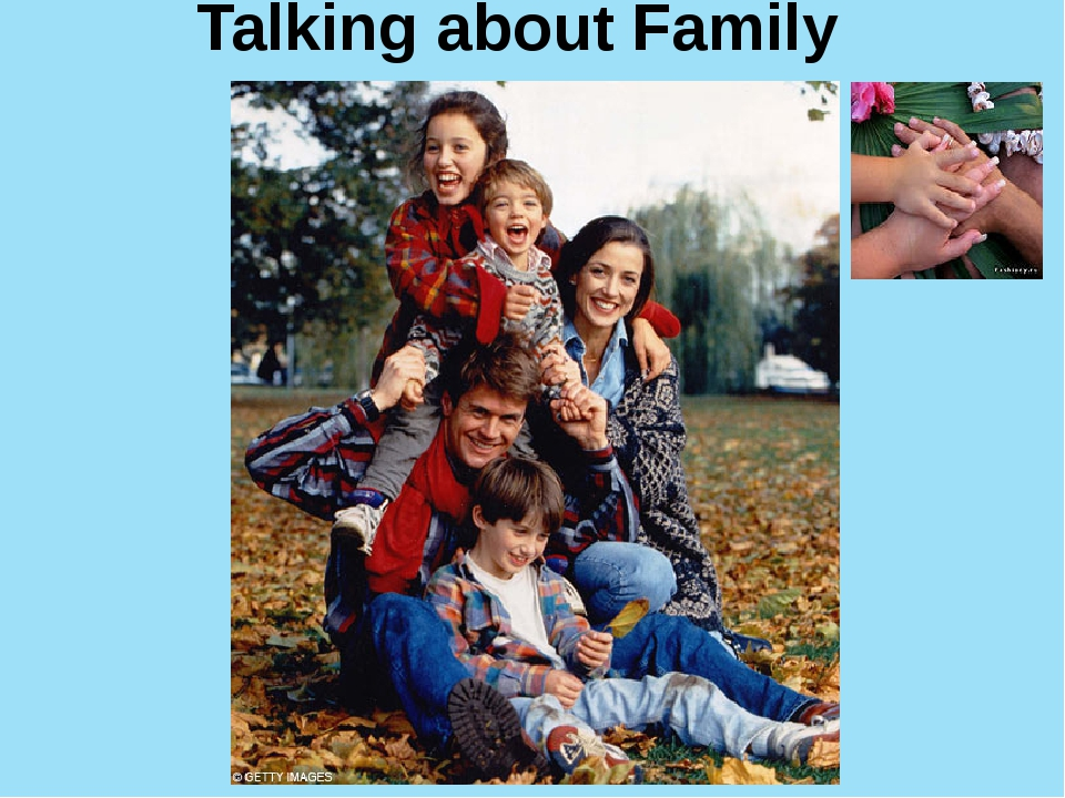 Talking about Family