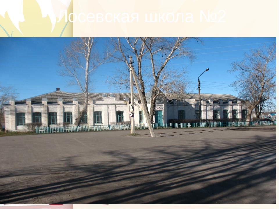 Лосевская школа №2