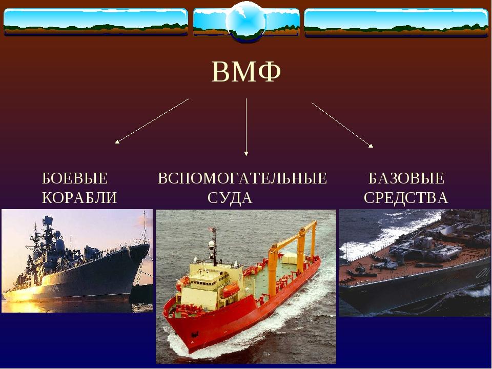 БОЕВЫЕ ВСПОМОГАТЕЛЬНЫЕ БАЗОВЫЕ КОРАБЛИ СУДА СРЕДСТВА ВМФ