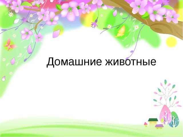 Домашние животные ProPowerPoint.ru