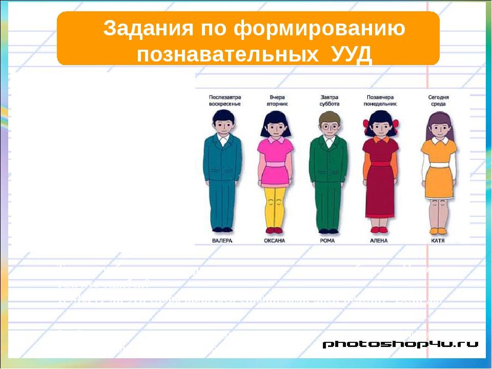 Задания по формированию познавательных УУД Внимательно изучите рисунок. Школ...