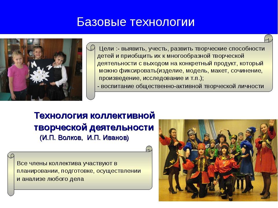 Технология коллективной творческой деятельности (И.П. Волков, И.П. Иванов) Б...
