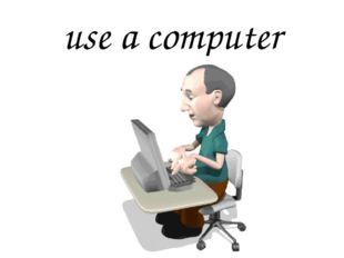 use a computer
