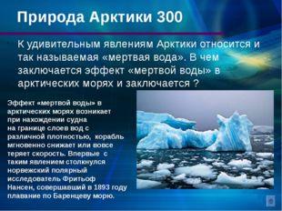 Арктический туризм Арктика – это огромная и экологически чистая территория. Т