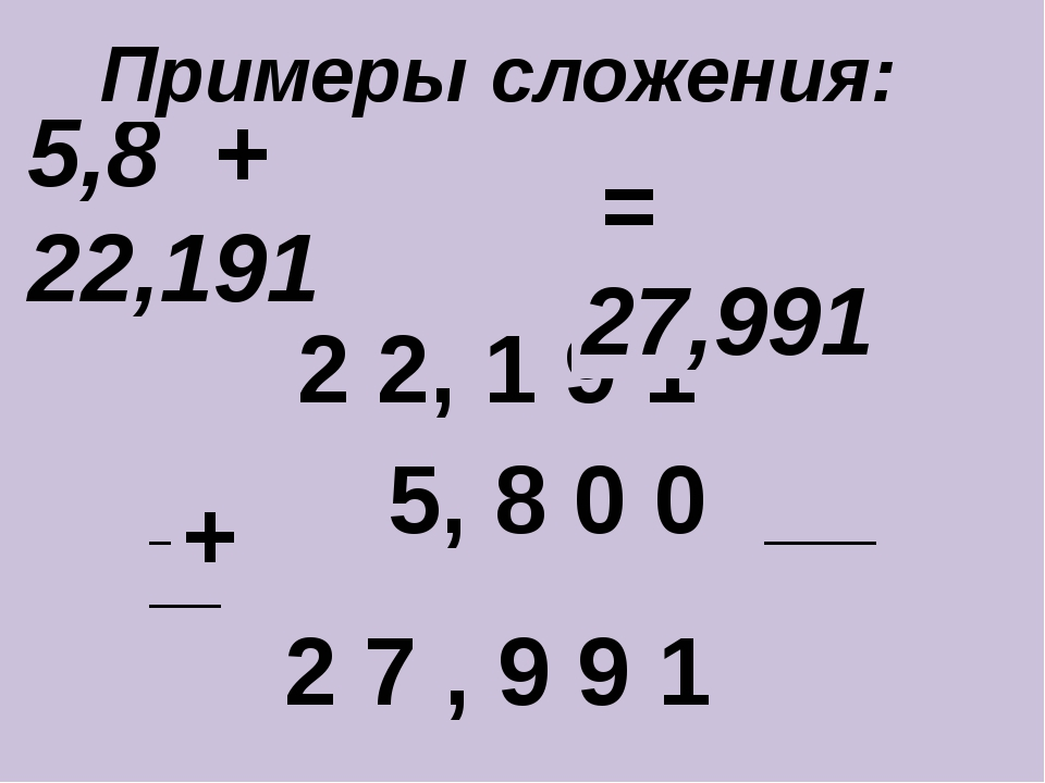 5,8 + 22,191 ____________________________ + 2 2, 1 9 1 5, 8 0 0 2 7 , 9 9 1 =...