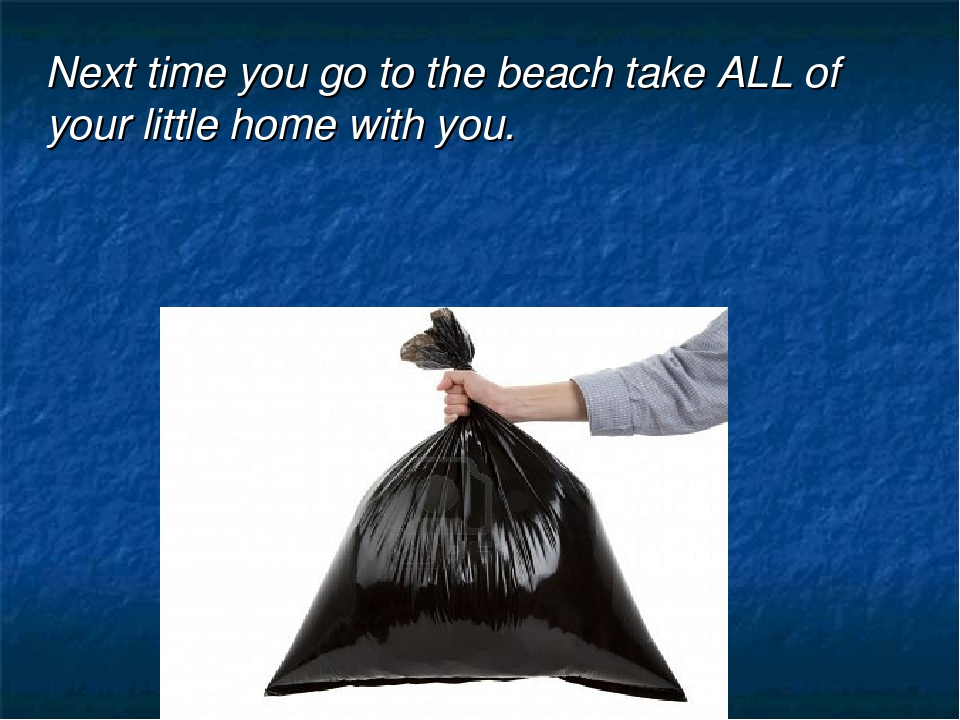 Next time you go to the beach take ALL of your little home with you.