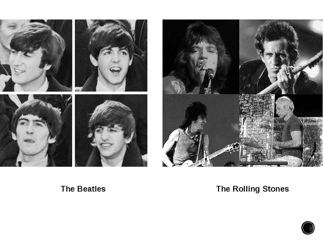 The Beatles The Rolling Stones