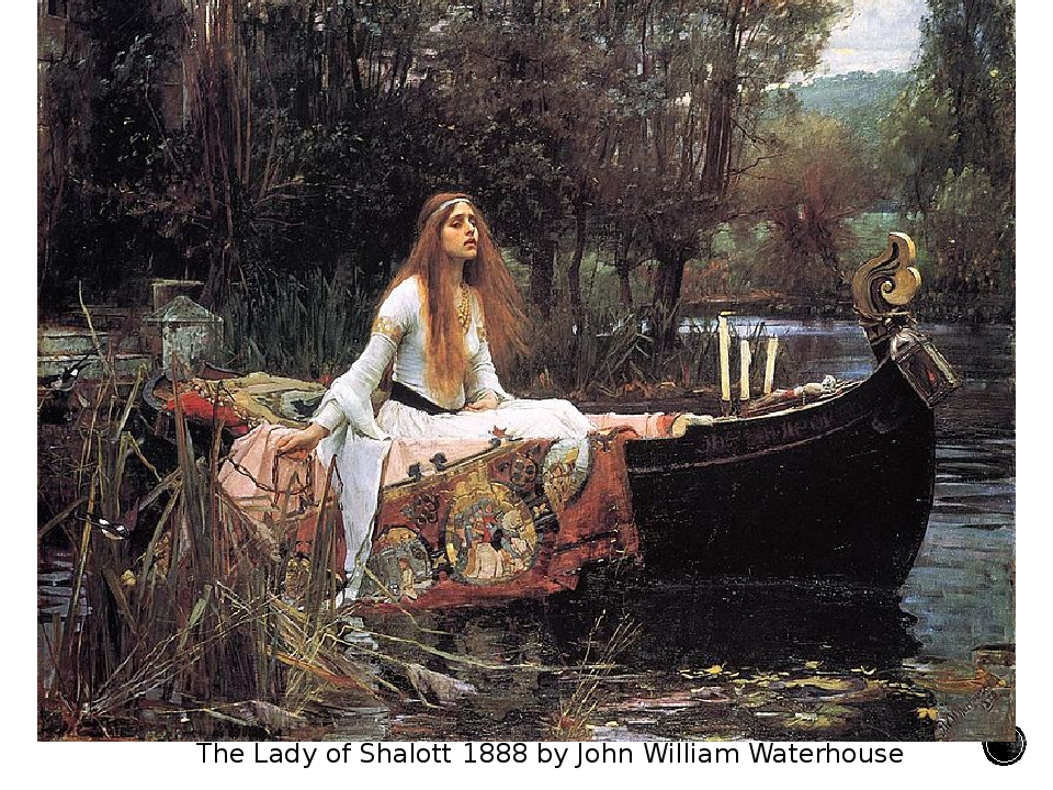 The Lady of Shalott 1888 by John William Waterhouse