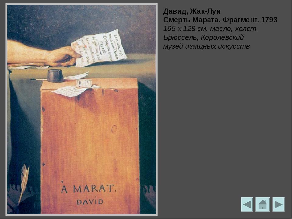 Давид, Жак-Луи Портрет папы Пия VII. 1805 Холст, масло, 86 х 72 см Париж, Лувр