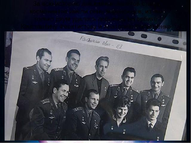 За всю историю внеземных полётов статус космонавтов имели семь воронежцев, и...