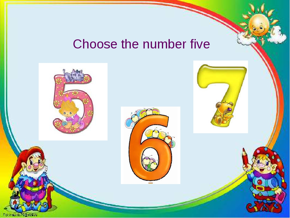 Choose the number five