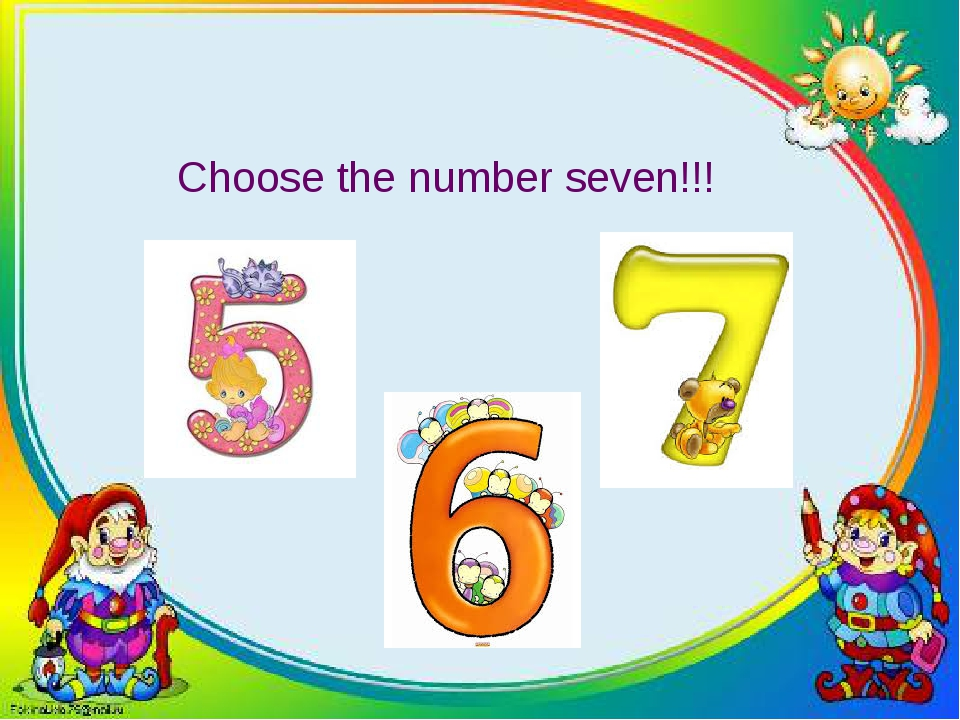 Choose the number seven!!!