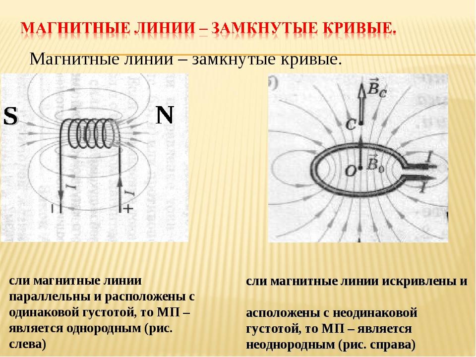 Если магнитные линии параллельны и расположены с одинаковой густотой, то МП –...