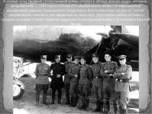 В первые годы Великой Отечественной войны готовил в лётных школах кадры лётч