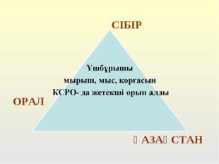 ОРАЛ СІБІР ҚАЗАҚСТАН