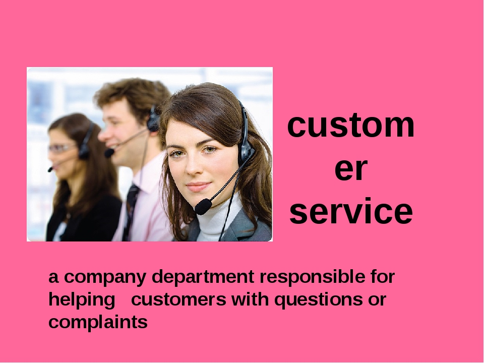 customer service a company department responsible for helping customers with...