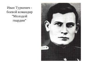 "Иван Туркенич - боевой командир ""Молодой гвардии"""