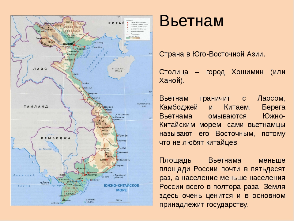 Вьетнам Страна в Юго-Восточной Азии. Столица – город Хошимин (или Ханой). Вье...