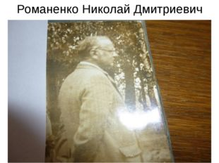 Романенко Николай Дмитриевич
