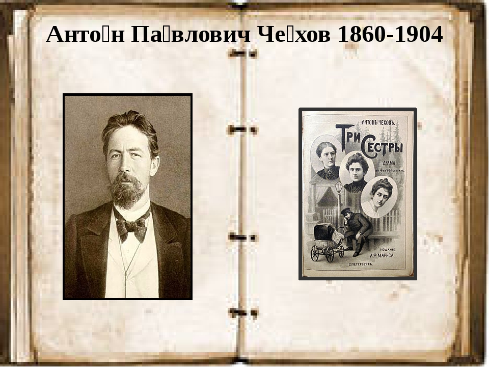 Анто́н Па́влович Че́хов 1860-1904