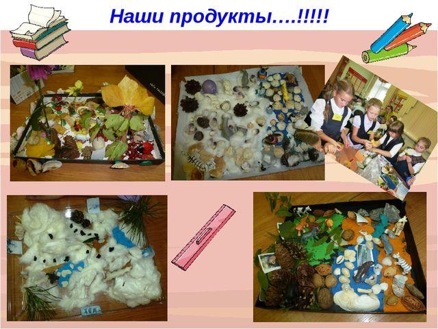 Наши продукты….!!!!!