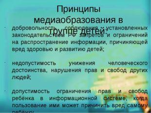 добровольность соблюдения установленных законодательством РФ запретов и огран