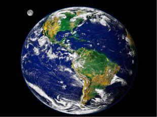 земля Посмотри, синие пятна на нашей планете – это вода – моря и океаны. Зеле