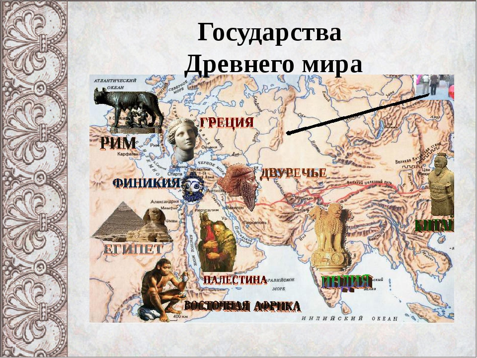 Государства Древнего мира