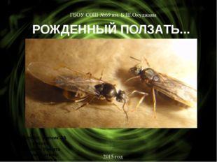 РОЖДЕННЫЙ ПОЛЗАТЬ... Выполнил: ученик 3А класса Истомин Никита Руководитель: