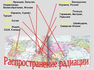 26 апреля: Белоруссия, Украина, Россия 29 апреля: Польша, Германия, Австрия,