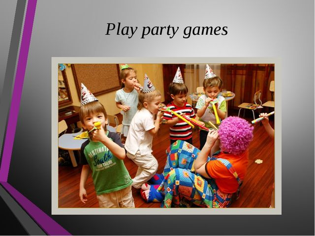 Play party games