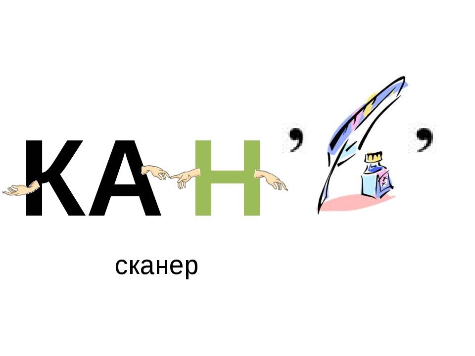 сканер КА Н