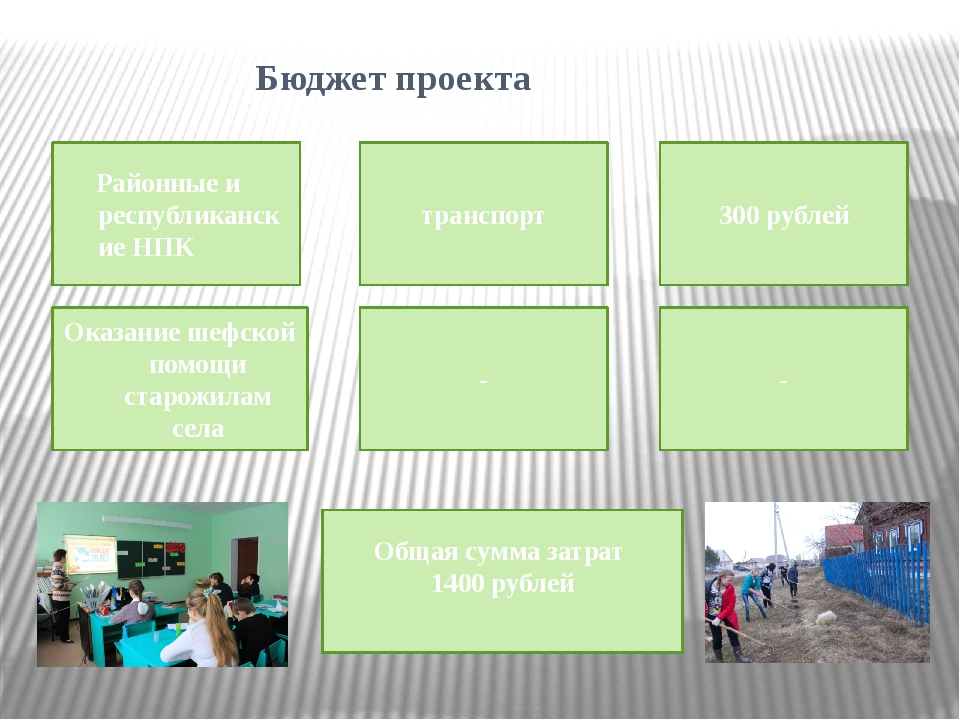 Бюджет проекта Районные и республиканские НПК транспорт 300 рублей Оказание...