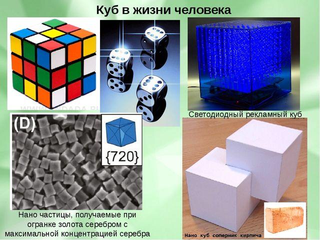 Нано частицы, получаемые при огранке золота серебром с максимальной концентр...
