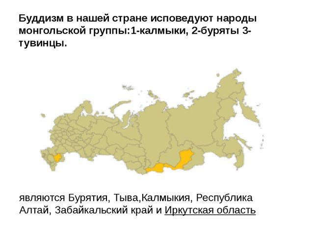 Какой из обозначенных на карте России городов расположен в пределах главной п...