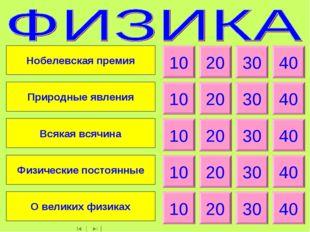 10 20 30 40 10 20 30 40 10 20 30 40 10 20 30 40 10 20 30 40 Нобелевская преми