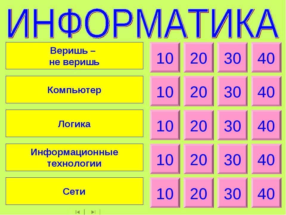10 20 30 40 10 20 30 40 10 20 30 40 10 20 30 40 10 20 30 40 Веришь – не вериш...