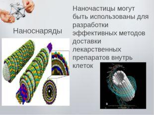 Наночастицы могут быть использованы для разработки эффективных методов достав