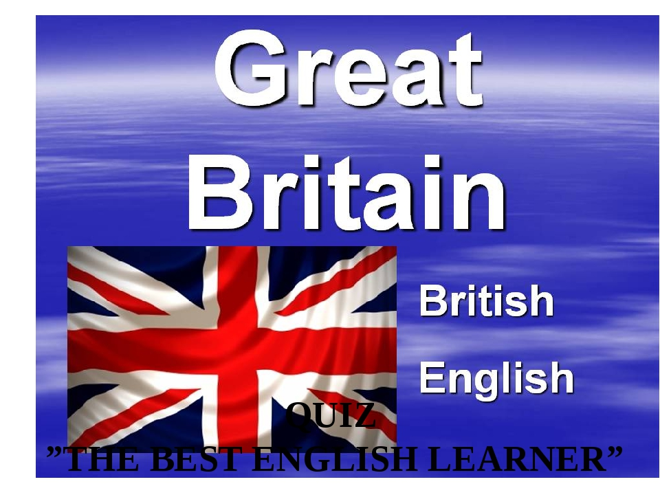 """QUIZ """"THE BEST ENGLISH LEARNER"""""""