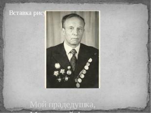 Мой прадедушка, Мещерский Федор Яковлевич