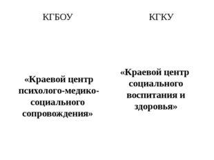 КГБОУ «Краевой центр психолого-медико-социального сопровождения» г. Комсомоль