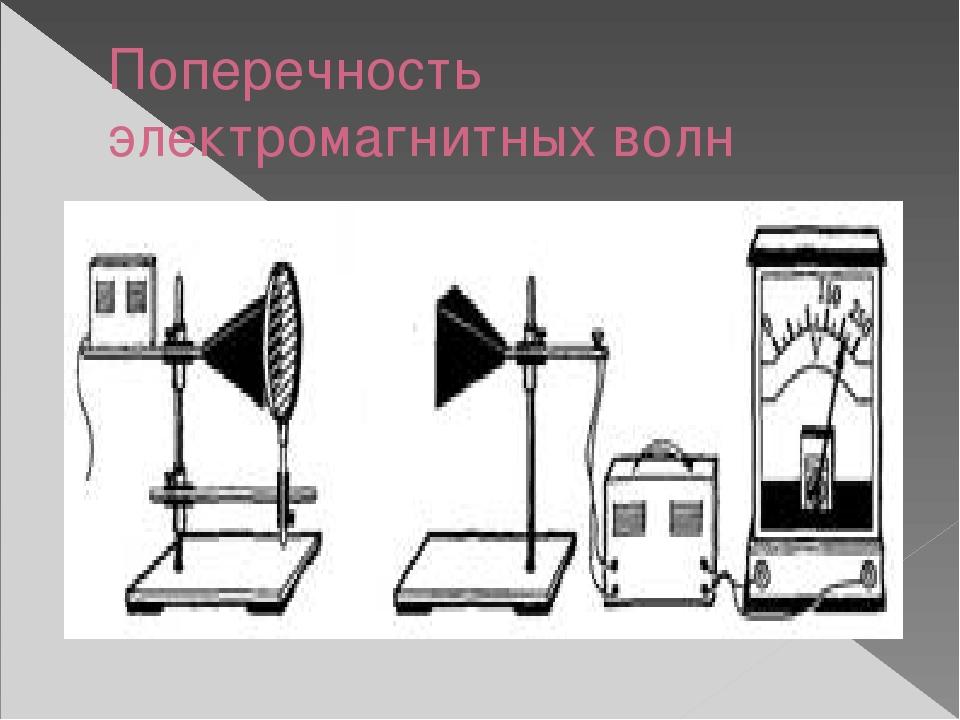 Поперечность электромагнитных волн