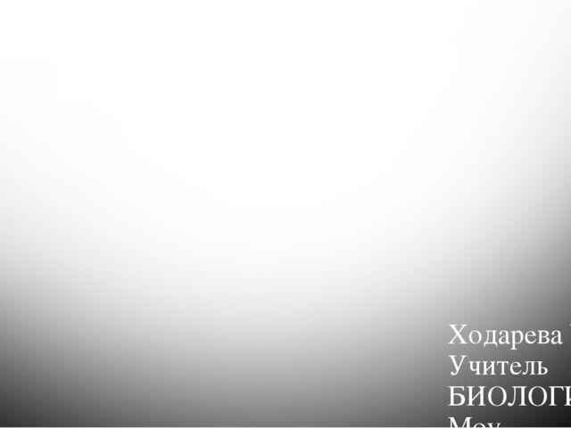 Деление клетки. митоз Ходарева Ю. К. Учитель БИОЛОГИИ Моу «Герасимовская СОШ»