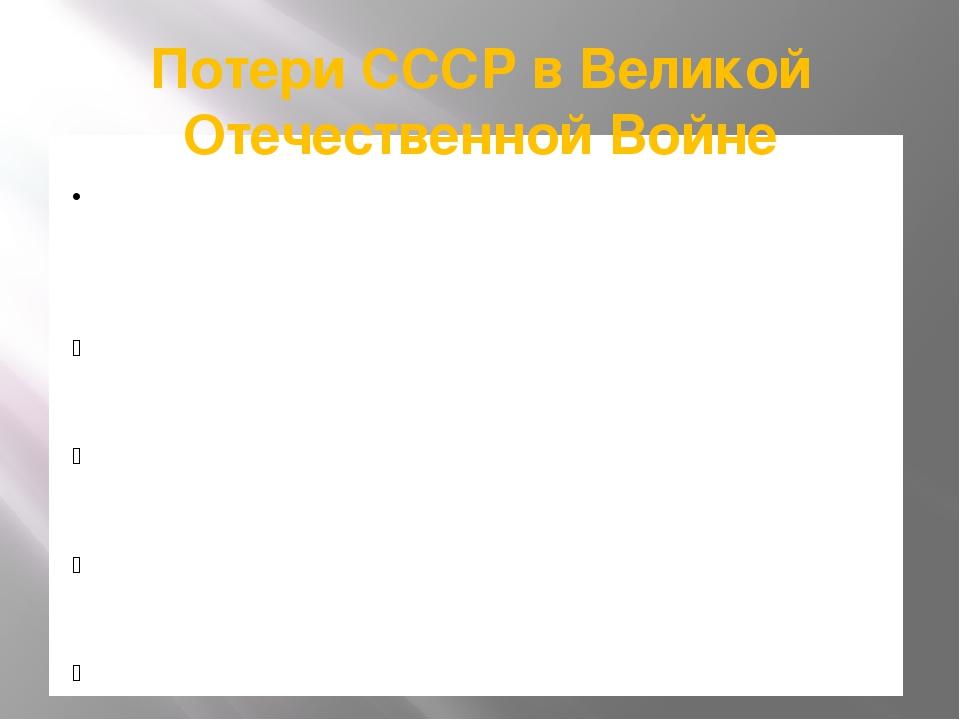 Потери СССР в Великой Отечественной Войне 26,6 миллионов человек погибли во в...